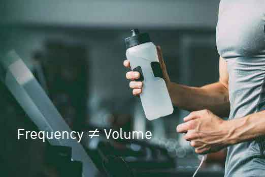 Frequency ≠ Volume