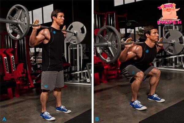 สร้างกล้ามต้นขาแน่น ๆ ด้วย Squat 3 แบบ สุขภาพ กีฬา ลดน้ำหนัก หุ่นดี ฟิตเนส สร้างกล้ามด้วยท่า Squat