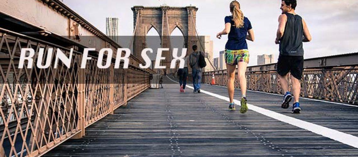 การวิ่ง ทำให้เซ็กส์ดีขึ้น